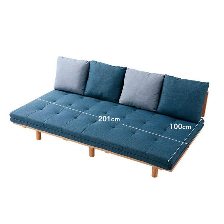 ベッドのサイズ感をそのままソファに