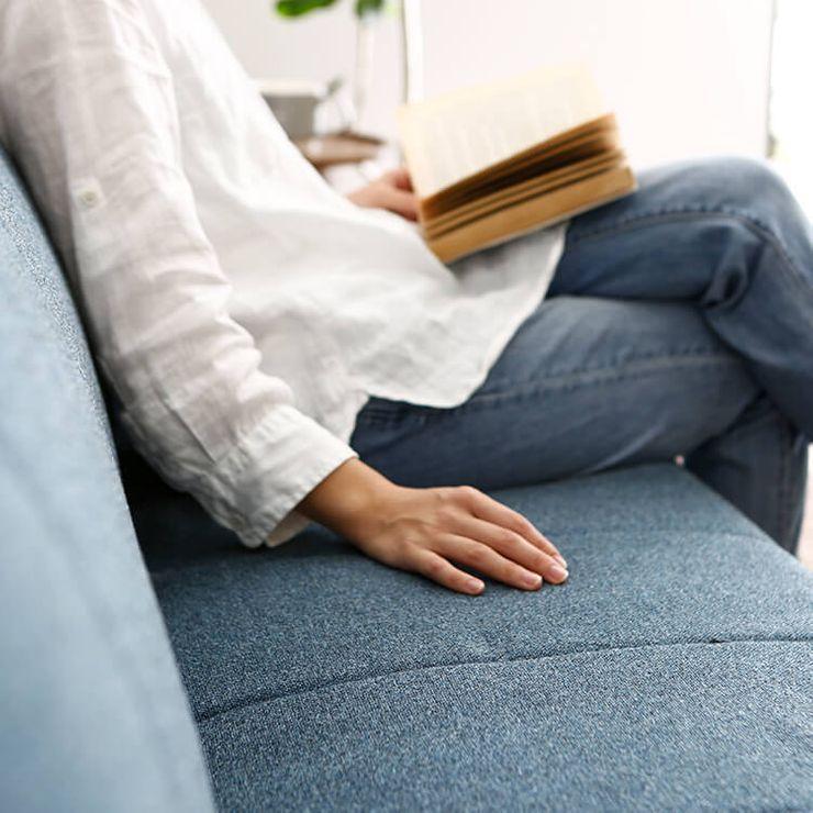 ゆったり座れるソファとして