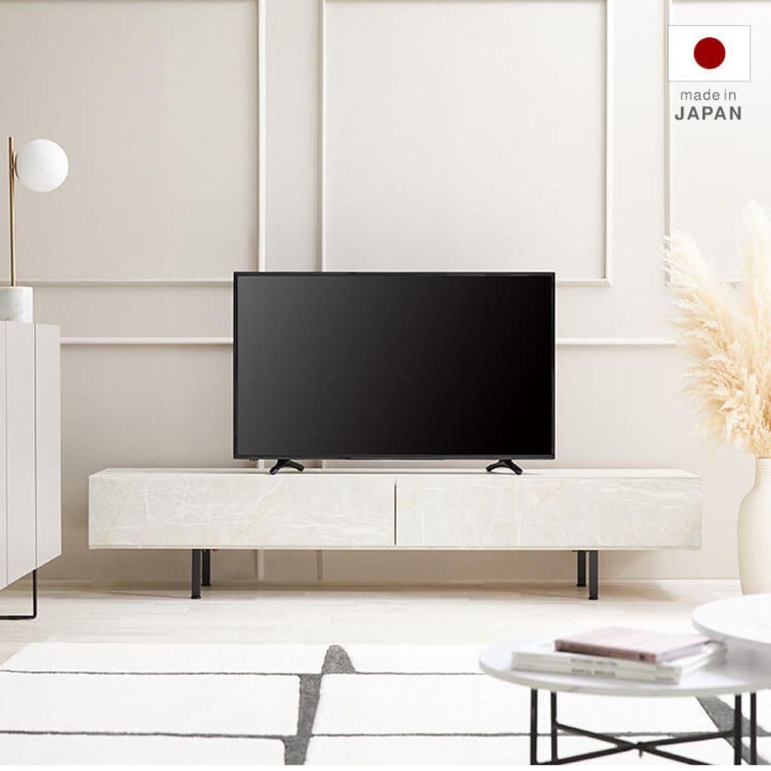 ローテレビ台 収納付 脚付 [幅180] | 【公式】LOWYA(ロウヤ) 家具 ...