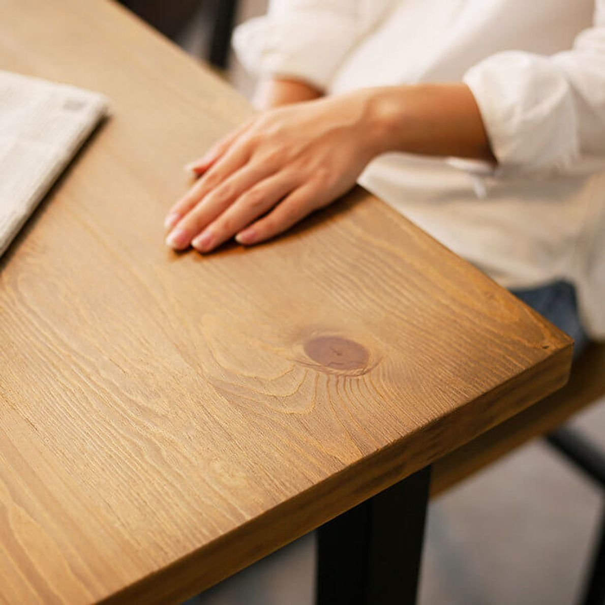 突板で味わう木肌の質感