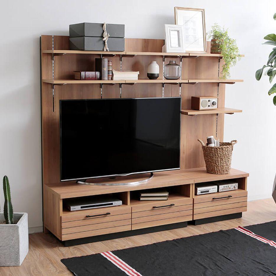 WOODEN TV-BOARD&CABINET