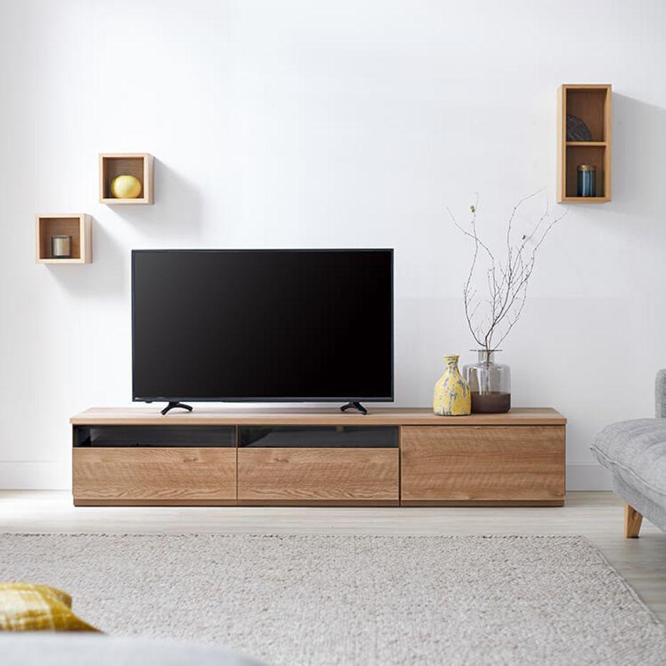 [幅180] 日本製 テレビ台 テレビボード   半完成品 収納